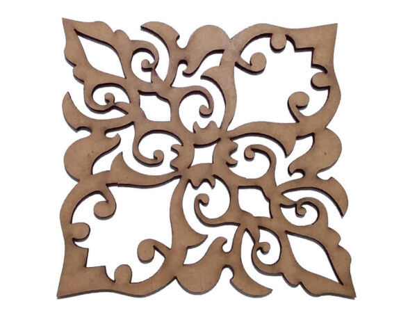 قطعه چوبی لیزری کد 415 - لوازم هنری