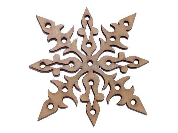قطعه چوبی لیزری کد 417 - لوازم هنری