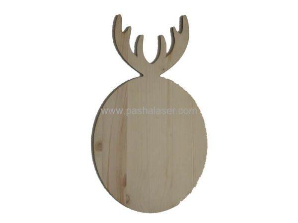 تخته سرو چوبی کد 355 - لوازم هنری