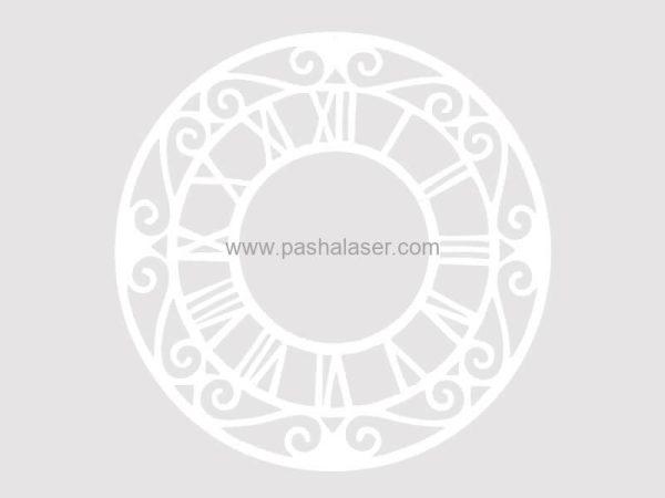 صفحه ساعت سفید