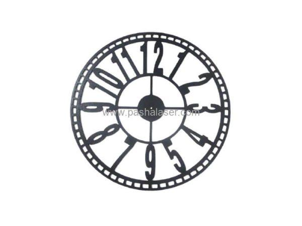 صفحه ساعت چوبی