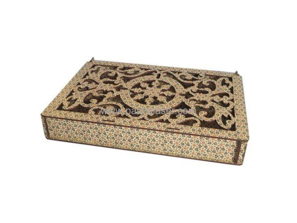 جعبه چوبی کادویی