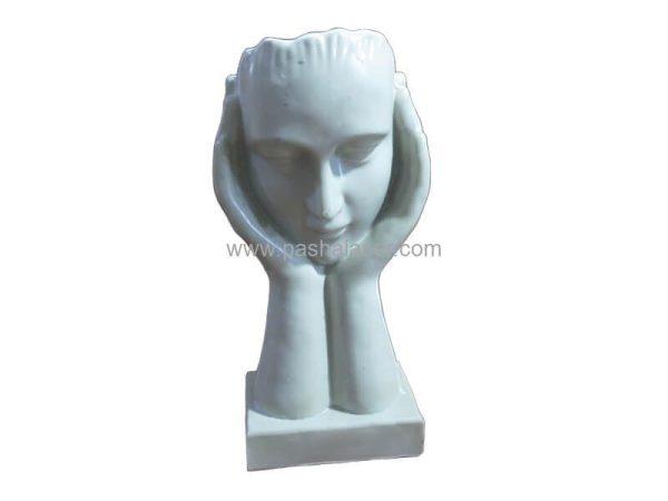 مجسمه پلی استر خام