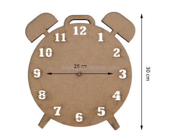 صفحه ساعت خام