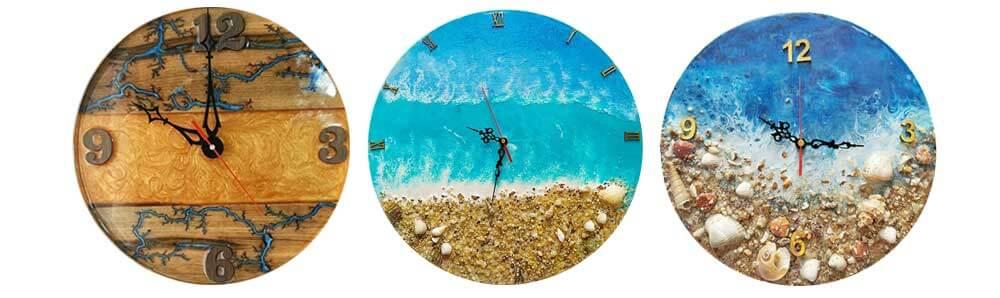 نمونه ساعتهای رزینی