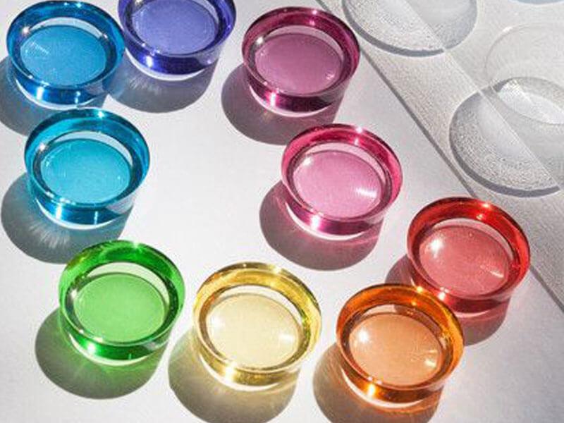 رنگهای سازگار با رزین اپوکسی